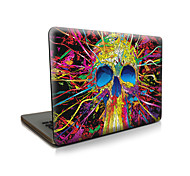 для Macbook Air 11 13 / pro13 15 / Pro с retina13 15 / macbook12 каракулями человек черепных яблочный кейс для ноутбука