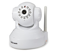Sricam 1.0 MP Indoor with IR-cut 128G(Day Night Motion Detection Remote Access Wi-Fi Protected Setup Plug and play) IP Camera