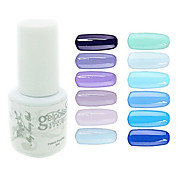 YeManNvYou®Sequins UV Color Gel Nail Polish No.61-72 (5ml, Assorted Colors)