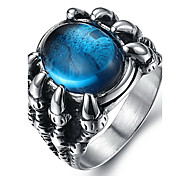 cheap -Men's Ring Statement Ring - Fashion Black Red Blue Ring For Daily Casual