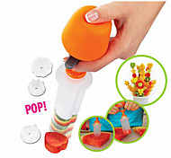 New 2016 Chef Woman Fast Treats Pop in Seconds Mould Decorations Fruit and Vegetable Tool Have Fun Kids High Quality