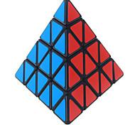 Недорогие -Кубик рубик Shengshou Pyramid 4*4*4 Спидкуб Кубики-головоломки головоломка Куб Новый год День детей Подарок Классический и неустаревающий