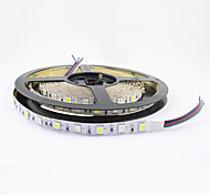 Flexible Led Strip RGB IP20 Non-Waterproof 300 SMD Decorative Light 5050 60 LEDs/M 12V DC 1 Piece