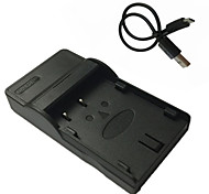 DLi90 Micro USB Mobile Battery Charger for Pentax Dli-90 K7 K-7 K5 K-5II K52S IIS K01 645D