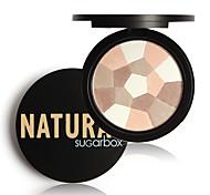 baratos -Base Pó Secos Pó Gloss Colorido Cobertura Longa Duração Corretivo Natural Olhos Rosto Lábios