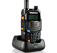 Wanhua UV6S Walkie Talkie VHF 136-174MHZ UHF 400-520MHZ 128CH 5W Two Way Radio