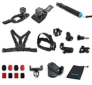 TELESIN 13-in-1 Mount Accessories Kit for Polaroid Cube and Polaroid Cube Lifestyle Action Camera