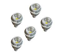 5pcs 7W GU10 водить 220-240 теплый белый dimmablesp огни чашки затемнением потолок