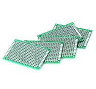 cheap -Double Side Tin-Plating 2.54mm DIY Prototype PCB Printed Circuit Board (5 PCS)