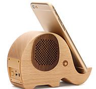 Phone Holder Stand Mount Desk Bed Other Wooden Bluetooth Speaker for Mobile Phone