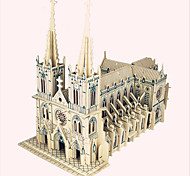 Jigsaw Puzzles Wooden Puzzles Building Blocks DIY Toys  Sacre Coeur 1 Wood Ivory Model & Building Toy