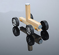 cheap -Crab Kingdom Model Assembled DIY Technology Handmade Magnetic Small Wooden Car DIY Material Package