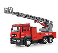Недорогие -Игрушечные машинки Модели автомобилей Машинки с инерционным механизмом Пожарная машина Игрушки Оригинальные Автомобиль Пожарные машины