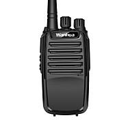 baratos -wanhua 818 Rádio de Comunicação Portátil Analógico Aviso De Bateria Fraca Explorar Monitoramento 5 - 10 km 5 - 10 km 16 Walkie Talkie