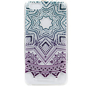 cheap -Case For Wiko Pattern Embossed Back Cover Lace Printing Soft TPU for Wiko Lenny 3