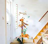 70-180Cm Sika Deer Height Stickers Animals Cartoon Fashion Wall Stickers Children'sPlane Wall Stickers Height Stickers Home Decoration