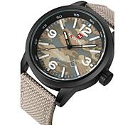 cheap -NAVIFORCE Men's Wrist watch Military Watch Sport Watch Quartz Japanese Quartz Calendar / date / day Water Resistant / Water Proof Fabric