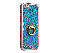 cheap -Case For Apple iPhone X iPhone 8 Ring Holder Back Cover Other Soft TPU for iPhone X iPhone 8 Plus iPhone 8 iPhone 7 Plus iPhone 7 iPhone