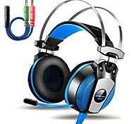 Недорогие -KOTION КАЖДЫЙ GS500 Наушники с оголовьемForМобильный телефон КомпьютерWithС микрофоном Регулятор громкости Игры Устройство шумопонижения