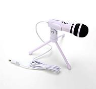 vendita calda audio registrazione audio microfono a condensatore con scosse montare clip di supporto con manopola di bloccaggio del