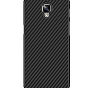 Недорогие -Кейс для Назначение OnePlus Один плюс 3 Защита от удара Матовое Кейс на заднюю панель Сплошной цвет Твердый ПК для One Plus 3 One Plus 3T
