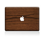 cheap -For MacBook Air 11 13/Pro13 15/Pro with Retina13 15/MacBook12 Brown Wood Grain Decorative Skin Sticker
