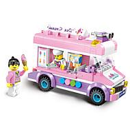 Недорогие -ENLIGHTEN Игрушечные машинки Конструкторы Игрушки Игрушки Автомобиль пластик Детские Девочки 213 Куски