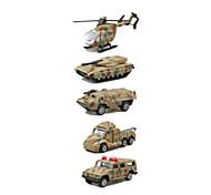 Недорогие -Игрушечные машинки Игрушки Военная техника Игрушки Вертолет Грузовик Металл Классический и неустаревающий Изысканный и современный 1 Куски
