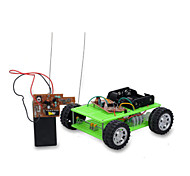 cheap -Toy Cars Solar Powered Toys Radio Control Toys Car Remote Control DIY Plastic Metal Boys' Pieces