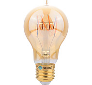 cheap -BRELONG® 1pc 4W 400lm E27 LED Filament Bulbs A60(A19) LED Beads SMD Decorative Warm White 220-240V