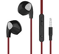 UiiSii U1 Earphones Wired In-ear Earbuds Headphones with Microphone Stereo Corded Headset