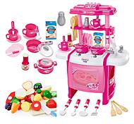 Ролевые игры Игрушка кухонные наборы Игрушка Посуда и чайные сервизы Детская техника Кулинария Игрушки Игрушки LED освещение Звук Девочки