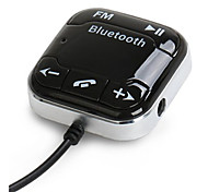 baratos -bt760 carro do bluetooth receptor de áudio Bluetooth fm transmissor de telefone do carro Bluetooth microfone embutido