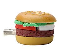 8gb гамбургер резиновые флэш-накопитель USB 2.0 диск