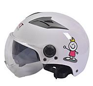 Недорогие -GXT m11 мотоцикл половина шлем двойной линзы Харли солнцезащитный шлем летом унисекс подходит для 55-61cm с короткой прозрачной линзой