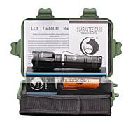 preiswerte -U'King LED Taschenlampen LED 2000 lm 5 Modus Cree XM-L T6 inklusive Batterie und Ladegerät Zoomable- einstellbarer Fokus Klammer Camping