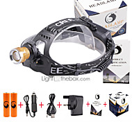 U'King Headlamps Headlight LED 3000 lm 4 Mode Cree XP-E R2 Adjustable Focus Compact Size Counterfeit Detector Easy Carrying High Power