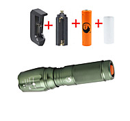 U'King LED Flashlights / Torch Flashlight Kits LED 2000 lm 5 Mode Cree XM-L T6 Adjustable Focus for Camping/Hiking/Caving Everyday Use