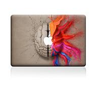 For MacBook Air 11 13/Pro13 15/Pro with Retina13 15/MacBook12  Watercolor Brain Decorative Skin Sticker