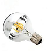 B22 E26/E27 LED Filament Bulbs G95 6 COB 600 lm Warm White 2700-3500 K Dimmable AC 220-240 AC 110-130 V
