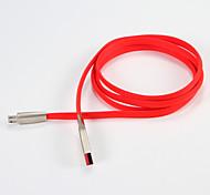 USB 2.0 Micro USB 2.0 Переносной Кабели Назначение Samsung Huawei Sony Nokia HTC Motorola LG Lenovo Xiaomi 100 cm Металл ПВХ