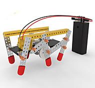 DIY KIT Educational Toy Robot Toys Machine Robot Architecture Novelty Walking DIY Pieces