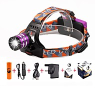 U'King Headlamps Headlight LED 2000 lm 3 Mode Cree XM-L T6 Adjustable Focus Easy Carrying High Power for Camping/Hiking/Caving Everyday