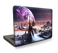 Для macbook air 11 13 / pro13 15 / pro с retina13 15 / macbook12 космическое пространство описано яблоко кейс для ноутбука