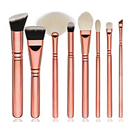 cheap -8pcs Contour Brush Foundation Brush Fan Brush Concealer Brush Eyeshadow Brush Blush Brush Makeup Brush Set Synthetic Hair Eco-friendly