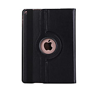 For iPad (2017) with Stand Auto Sleep/Wake Flip 360 Rotation Case Full Body Case Solid Color IPad Pro 9.7 iPad pro10.5  Air 2 iPad 2/3/4 mini 123