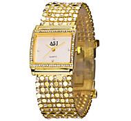 Women's Fashion Watch Dress Watch Bracelet Watch Simulated Diamond Watch Japanese Quartz Rhinestone Imitation Diamond Alloy Band Luxury