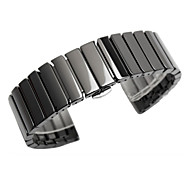 cheap -For Samsung Gear S3 Classic Frontier 22mm Ceramic Watch Strap Band Wristband