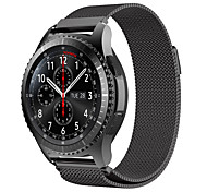 cheap -Watch Band for Gear S3 Classic Samsung Galaxy Sport Band Metal Wrist Strap