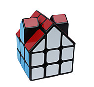 cheap -Rubik's Cube Alien Smooth Speed Cube Magic Cube Puzzle Cube Smooth Sticker House Gift Unisex
